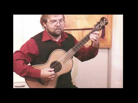 Matteo Carcassi - Capricco No. IV Op. 26 performed by Alex Timmerman on a French Period guitar