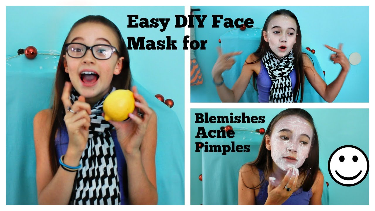 how to clear face blemishes naturally