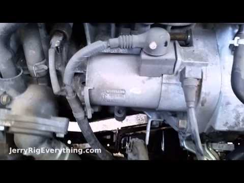 starter replacement 2003 2005 honda accord 2 4l how to. Black Bedroom Furniture Sets. Home Design Ideas