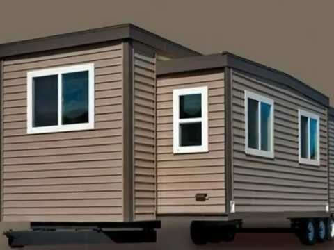 Shipping Container Homes - Park Model RV Housing Trailers in Canada