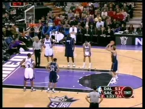 Dirk Nowitzki 37 pts, season 2006, mavs vs kings