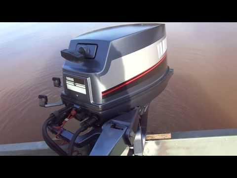 Lake test of 1988 Yamaha 9.9 HP motor.