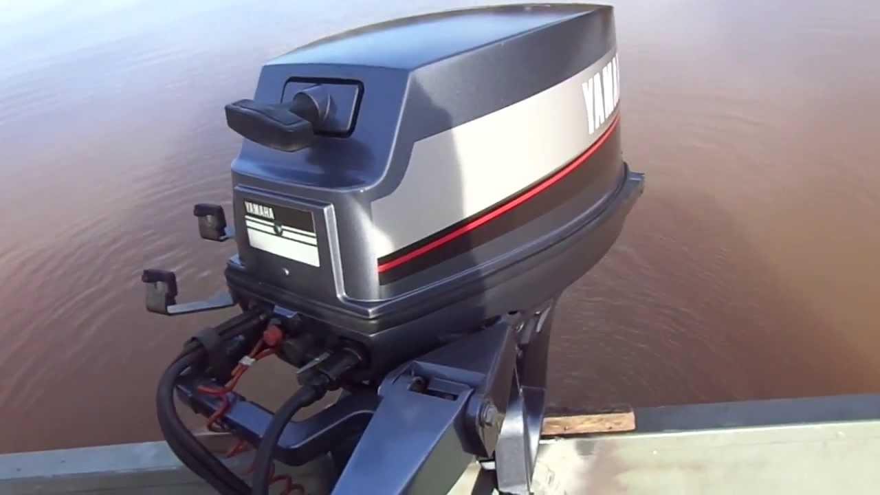 Lake test of 1988 yamaha 9 9 hp motor youtube Best 15hp outboard motor