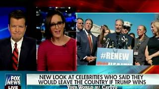 Celebrities Promise to Leave the US if Trump Wins - When Can We Hope to Wave Goodbye?