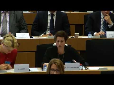 Octagon Theatre Bolton represented at European Parliament, Brussels.
