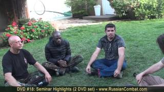 [SYSTEMA RUSSIAN SPETSNAZ - Hand to hand combat - Seminar Fee...] Video