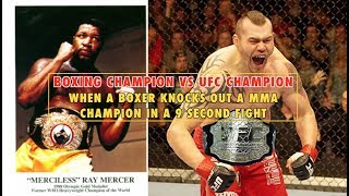 UFC Champion vs Boxing Champion in MMA