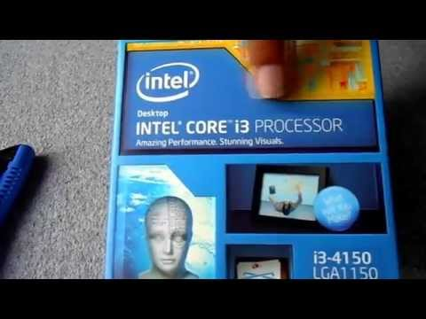 Intel Core i3 4150 Haswell 4th Generation Processor Unboxing