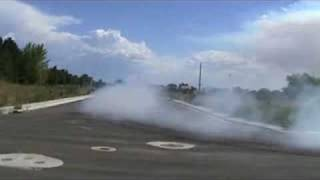 bad ass buick apollo burn-out