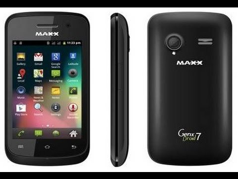 Maxx GenX Droid 7 (Features In Hindi)