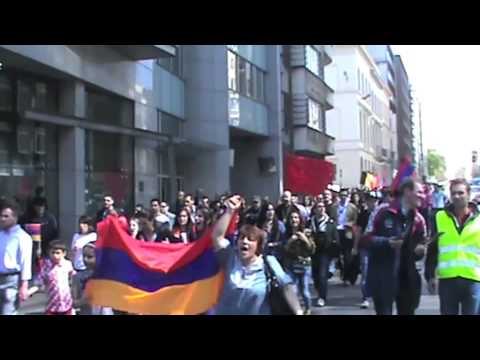 2013-04-24 Brussel, commemoration of Armenian Genocide