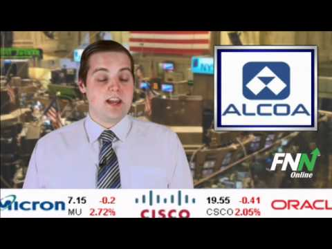 Alcoa Earnings Responsible for Possible Market Rebound