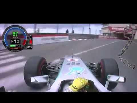 F1 2013 Monaco   Nico Rosberg Pole Lap