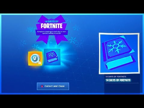 I Got 14 Days Of Fortnite Challenges And Every Item To Unlock In