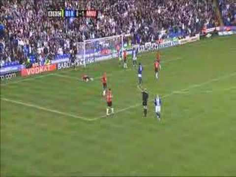 Tomasz Kuszczak! magnificent Save against Birmingham