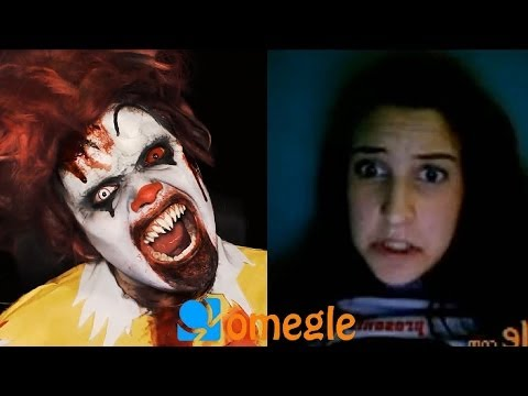 Zombie Clown Goes On Omegle! video