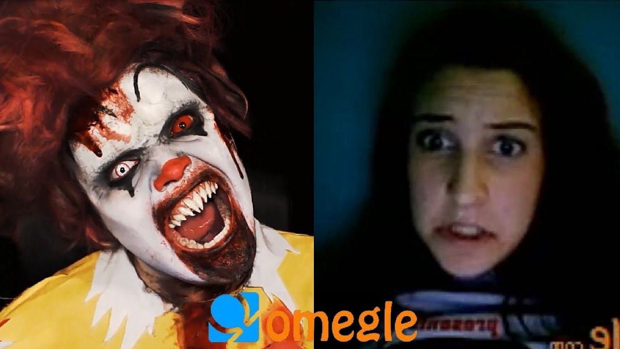 Zombie Clown Goes On Omegle YouTube