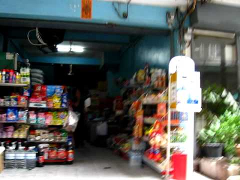 Walk down the Soi (Lane) outside my apartment in Bangkok Thailand off Sukhumvit Close to BTS