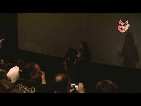 Kirk Hammet introduces the new Metallica movie in Milwaukee