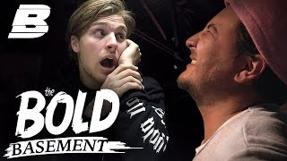 DANNY FROGER WORDT FLINK AANGEPAKT | THE BOLD BASEMENT - Concentrate BOLD