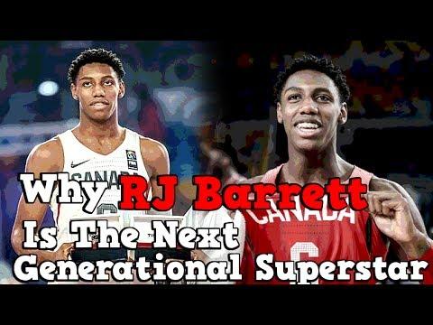 Why R.J. Barrett Is The NBA's Next Generational Superstar