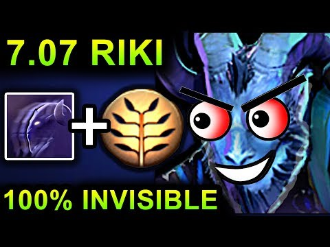 UNLIMITED INVISIBLE RIKI - DOTA 2 PATCH 7.07 NEW META PRO GAMEPLAY