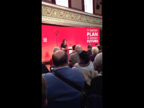 Akooji Badat 30/4/15 Ed Miliband in Dewsbury