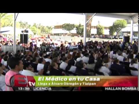 'Médico en tu casa' llega a delegaciones Álavaro Obregón y Tlalpan/ Comunidad