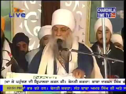 Sant Baba Saroop Singh Ji-chandigarh Wale 8feb2015 G.tikana Sahib,punjabi Bagh,new Delhi video