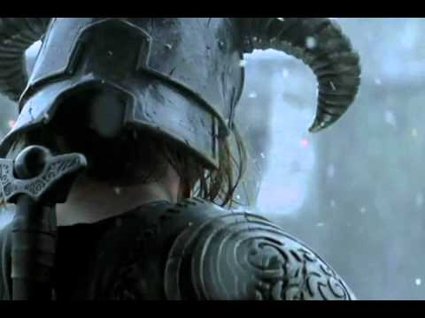 Skyrim Live Action Trailer + Skyrim Theme Music Videos
