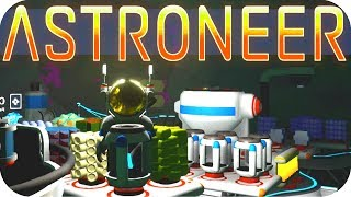 Astroneer Gameplay: DEEP STORAGE!! ▶RESEARCH 2.1 UPDATE◀ Let's Play Astroneer Alpha v0.5.0