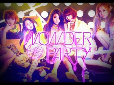 Wonder Girls Like This (instrumental) 100%!! video