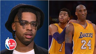 D'Angelo Russell: Playing for Lakers was a blur, but I remember Kobe | NBA on ESPN