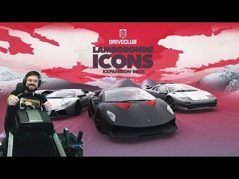 Сончик отец?! Дрифт на непокорном Lamborghini Diablo - Driveclub PS4 + огненная концовка