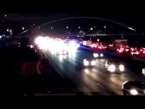 Protesters block traffic on I 80 west and east