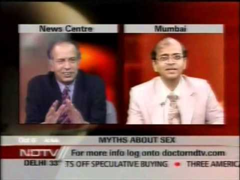 Gobble    Dr Dr Rajan Bhonsle In Doctor Ndtv Show Talks Abt Penis Size M video
