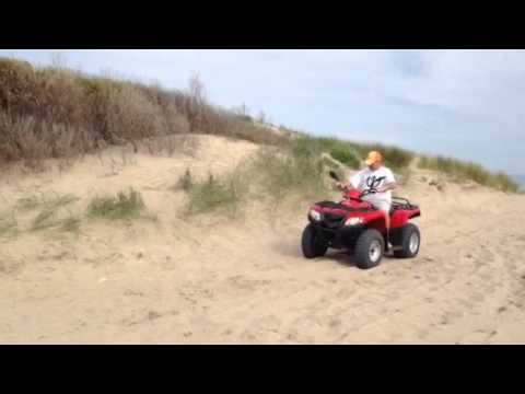 Como subir un cuatri a una camioneta sin rampa