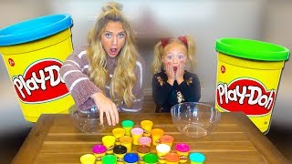 DON'T CHOOSE THE WRONG PLAY DOH SLIME CHALLENGE!!!