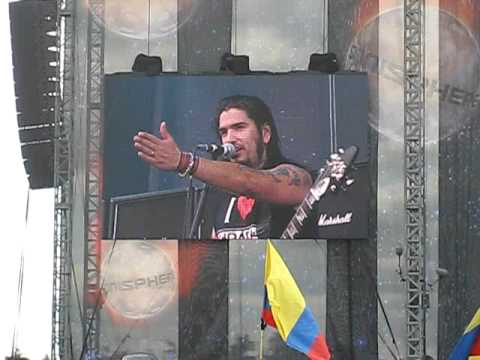 Machine Head @ Sonisphere 2009 - Robb Flynn speaks (live)