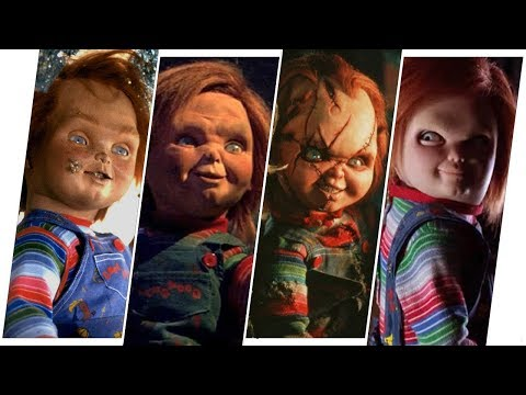 Chucky Evolution in Movies & TV (Child's Play)