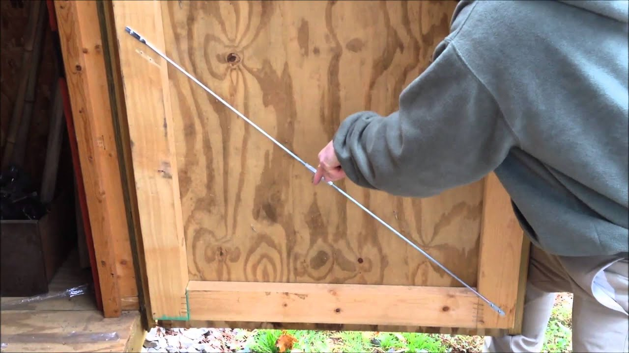 for How to fix a sagging exterior door