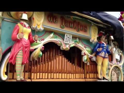 Haags Verdonk draaiorgel de Jantjes goes Bollywood! Kehta Hai...