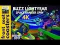 Buzz Lightyear's Space Ranger Spin POV 4K On-Ride 2017 Magic Kingdom Disney World Pixar Tomorrowland