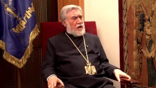 An interview with His Holiness Aram I about His historic visit to Arstakh