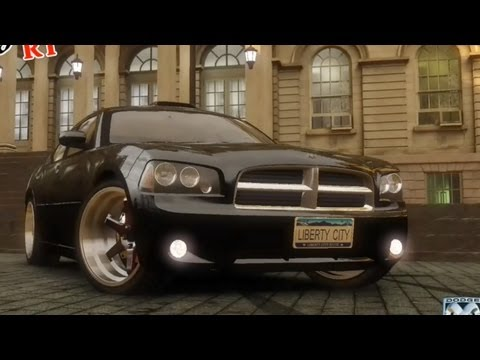 GTA 4 Dodge Charger RT 2006 !!  ENB series Extreme Graphics  [ Car mods + RealizmIV + VisualIV ]