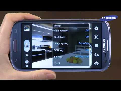 Samsung Galaxy S III  - Camera/Camcorder Overview