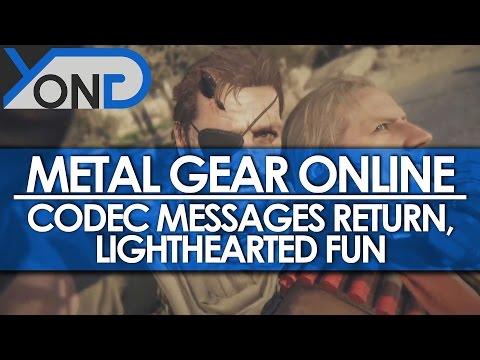 Metal Gear Online - Codec Messages Return, Lighthearted Fun