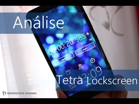 Análise Tetra Lockscreen para Windows Phone 8.1