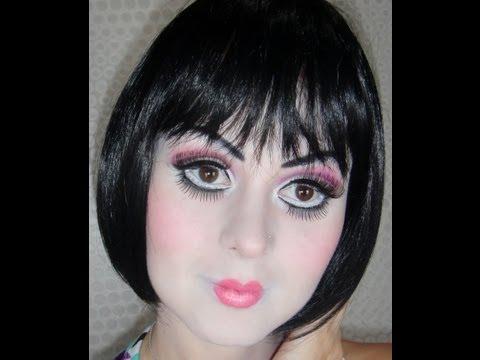 Maquiagem artística de Boneca - carnaval 2013 - por Fernanda Jordéli