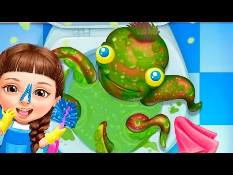 Игра где Девочка Катя делает Уборку в ШКОЛЕ Мультик для детей Video for kids